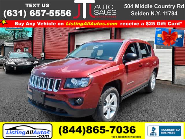 Used Jeep Compass Sport 4dr SUV 2016 | www.ListingAllAutos.com. Patchogue, New York