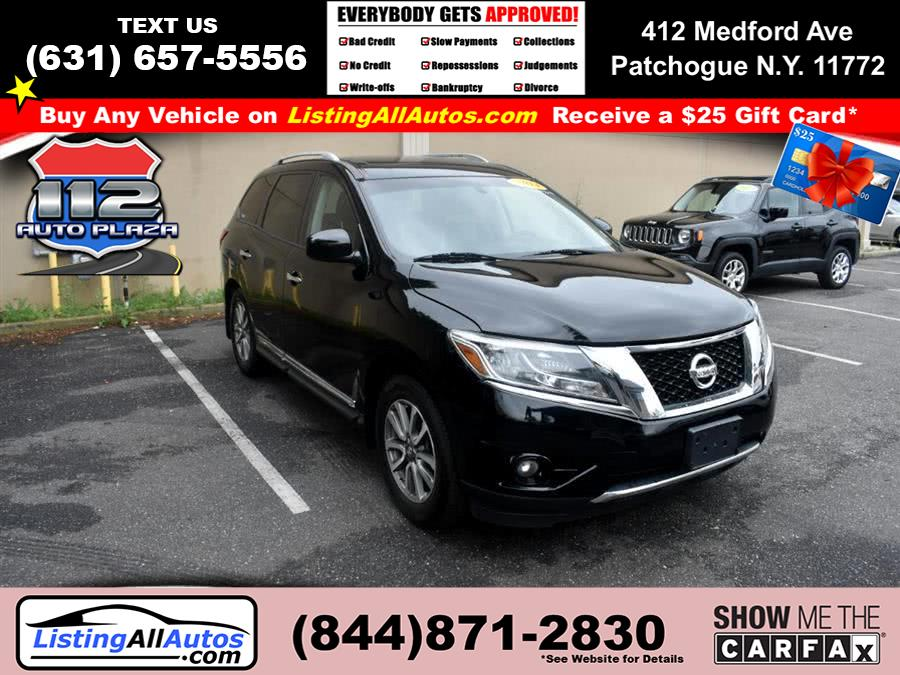 Used Nissan Pathfinder 4WD 4dr SL 2014 | www.ListingAllAutos.com. Patchogue, New York