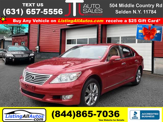 Used Lexus Ls 460 4dr Sdn L AWD 2010 | www.ListingAllAutos.com. Patchogue, New York