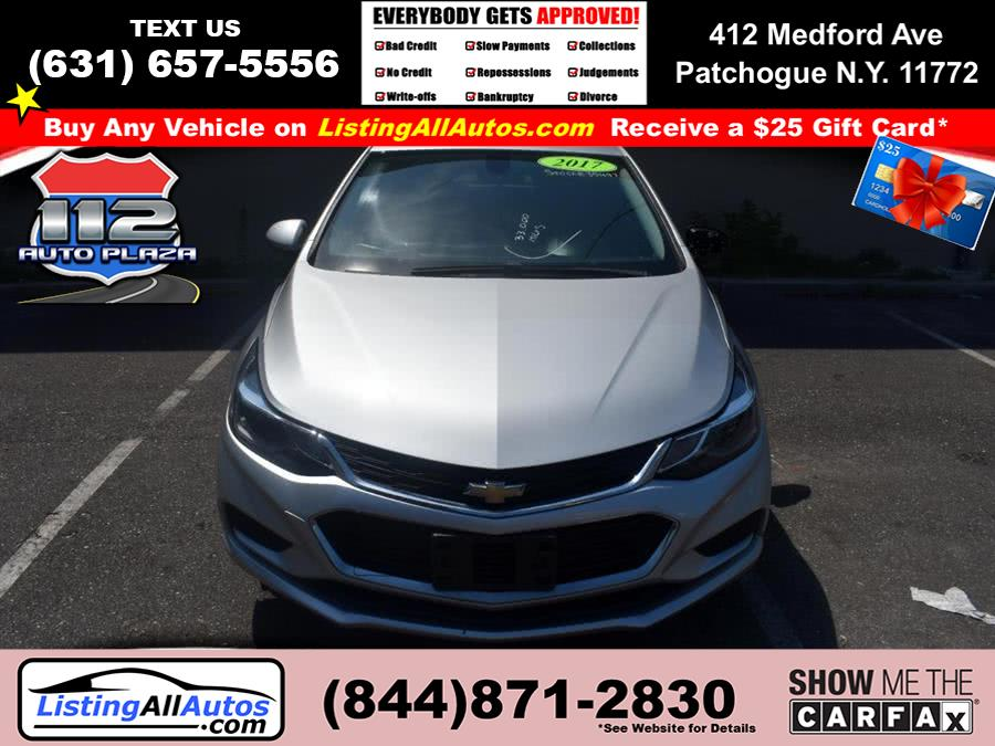 Used 2017 Chevrolet Cruze in Patchogue, New York | www.ListingAllAutos.com. Patchogue, New York