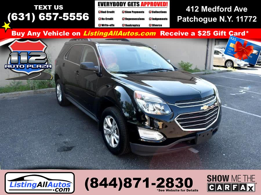 Used Chevrolet Equinox AWD 4dr LT w/1LT 2017 | www.ListingAllAutos.com. Patchogue, New York