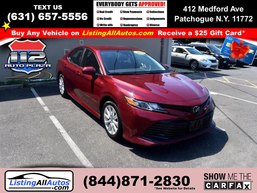 Used Toyota Camry LE Auto (Natl) 2019 | www.ListingAllAutos.com. Patchogue, New York