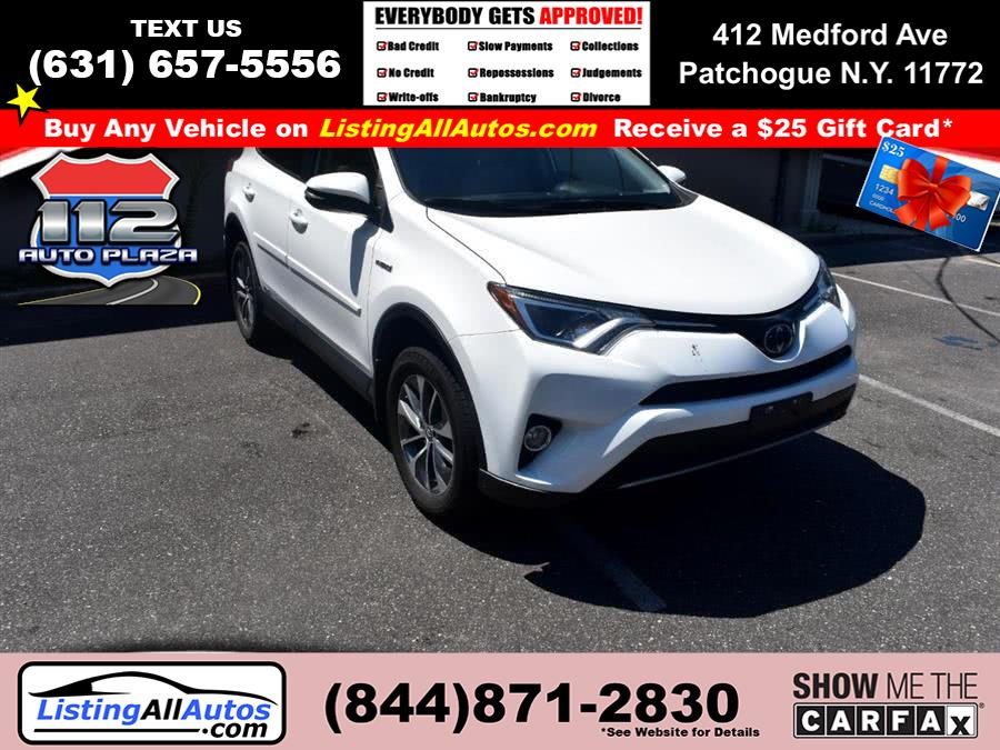 Used Toyota Rav4 Hybrid LE Plus AWD (Natl) 2018 | www.ListingAllAutos.com. Patchogue, New York