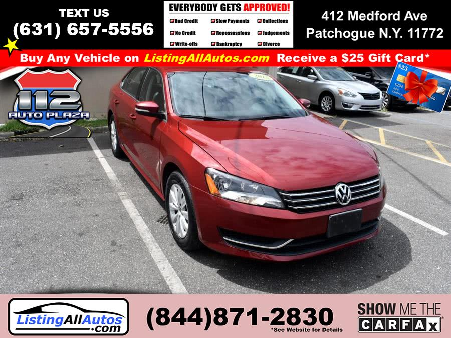 Used 2015 Volkswagen Passat in Patchogue, New York | www.ListingAllAutos.com. Patchogue, New York