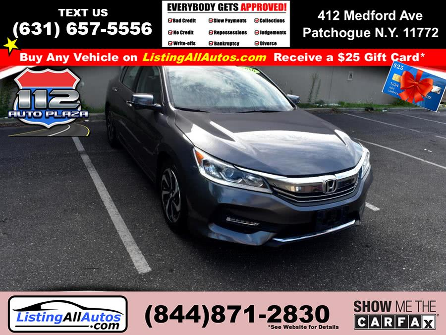 Used 2016 Honda Accord Sedan in Patchogue, New York | www.ListingAllAutos.com. Patchogue, New York