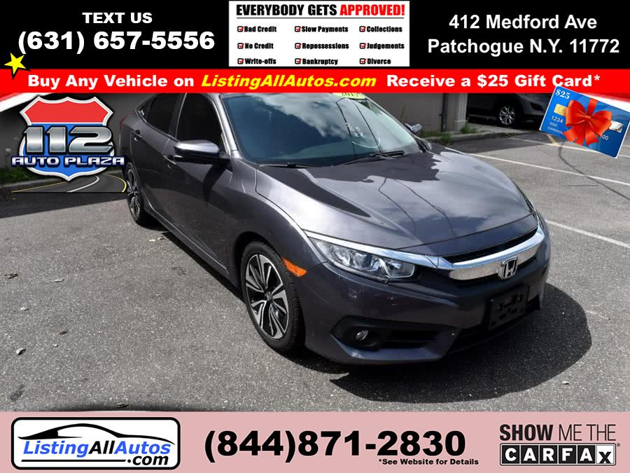 Used Honda Civic Sedan EX-T CVT 2017 | www.ListingAllAutos.com. Patchogue, New York