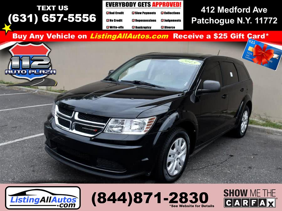 Used 2015 Dodge Journey in Patchogue, New York | www.ListingAllAutos.com. Patchogue, New York