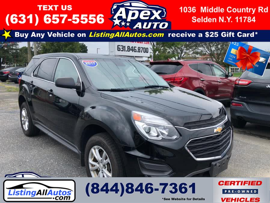 Used Chevrolet Equinox AWD 4dr LS 2017 | www.ListingAllAutos.com. Patchogue, New York