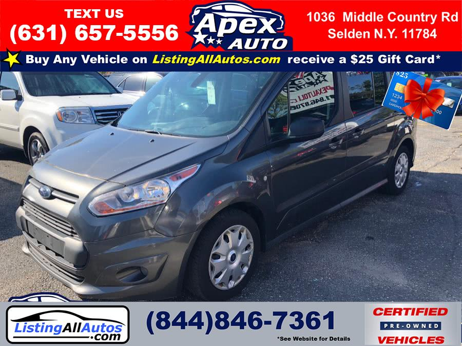 Used Ford Transit Connect Wagon XLT LWB w/Rear Symmetrical Doors 2017 | www.ListingAllAutos.com. Patchogue, New York