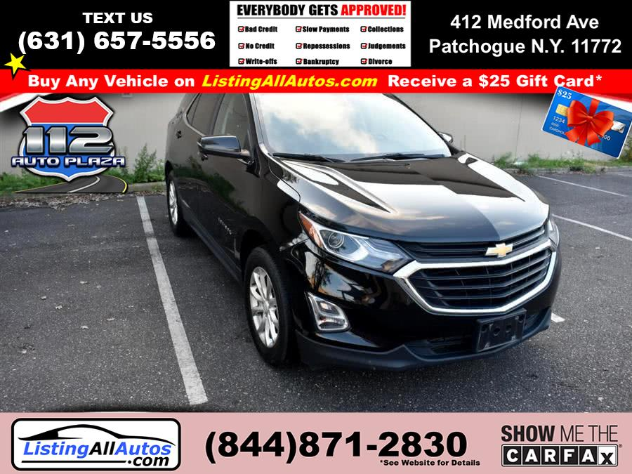 Used 2018 Chevrolet Equinox in Patchogue, New York | www.ListingAllAutos.com. Patchogue, New York