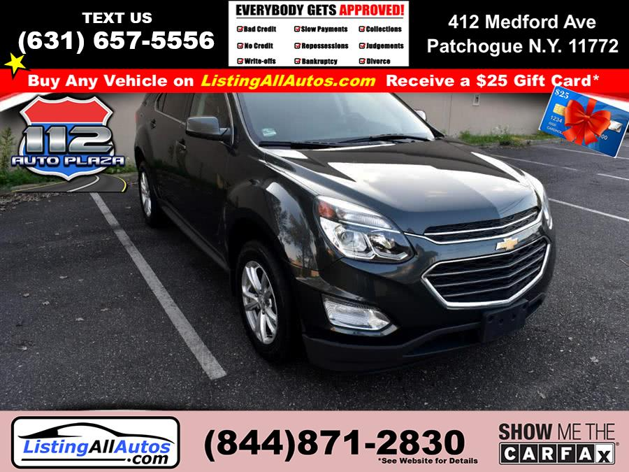 Used Chevrolet Equinox FWD 4dr LT w/1LT 2017 | www.ListingAllAutos.com. Patchogue, New York