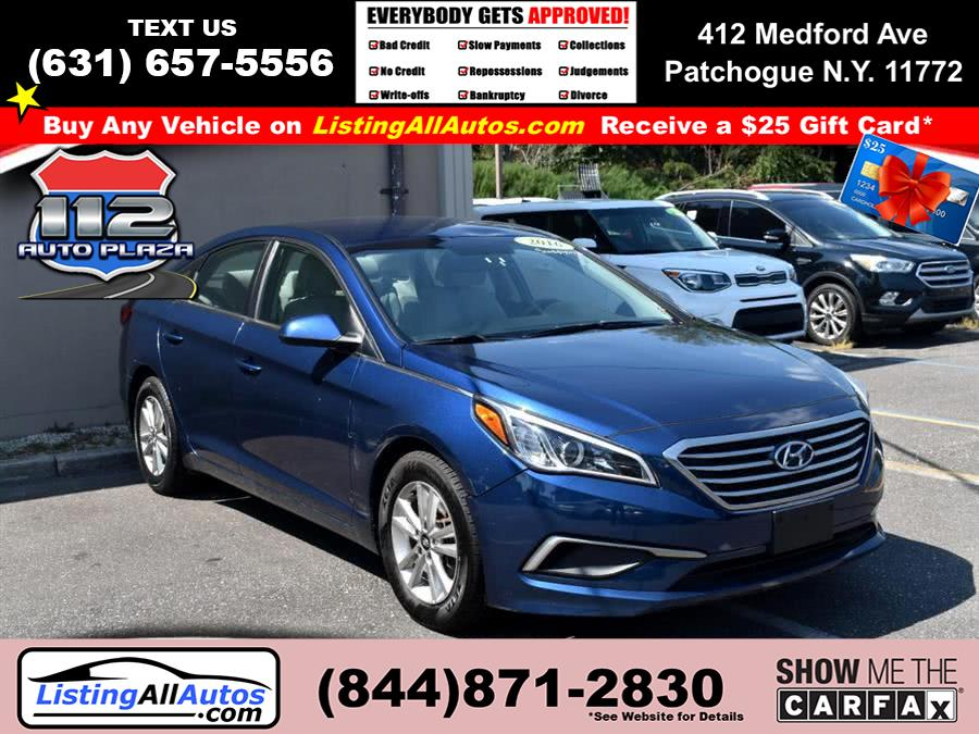 Used 2016 Hyundai Sonata in Patchogue, New York | www.ListingAllAutos.com. Patchogue, New York