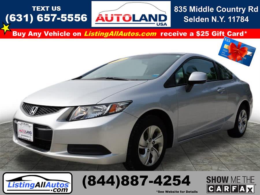 Used Honda Civic LX 2013 | www.ListingAllAutos.com. Patchogue, New York