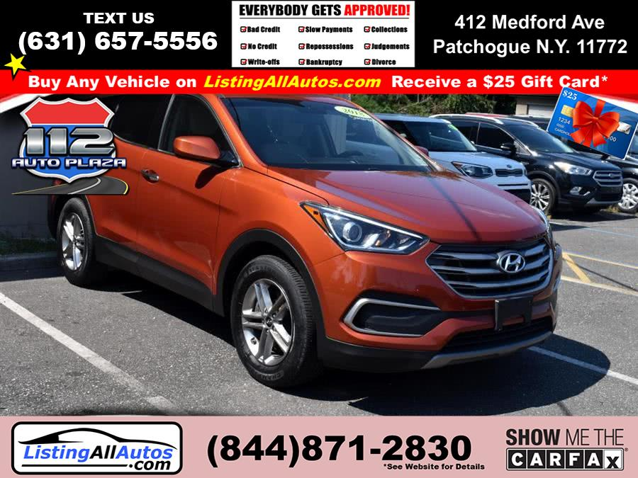 Used 2018 Hyundai Santa Fe Sport in Patchogue, New York | www.ListingAllAutos.com. Patchogue, New York
