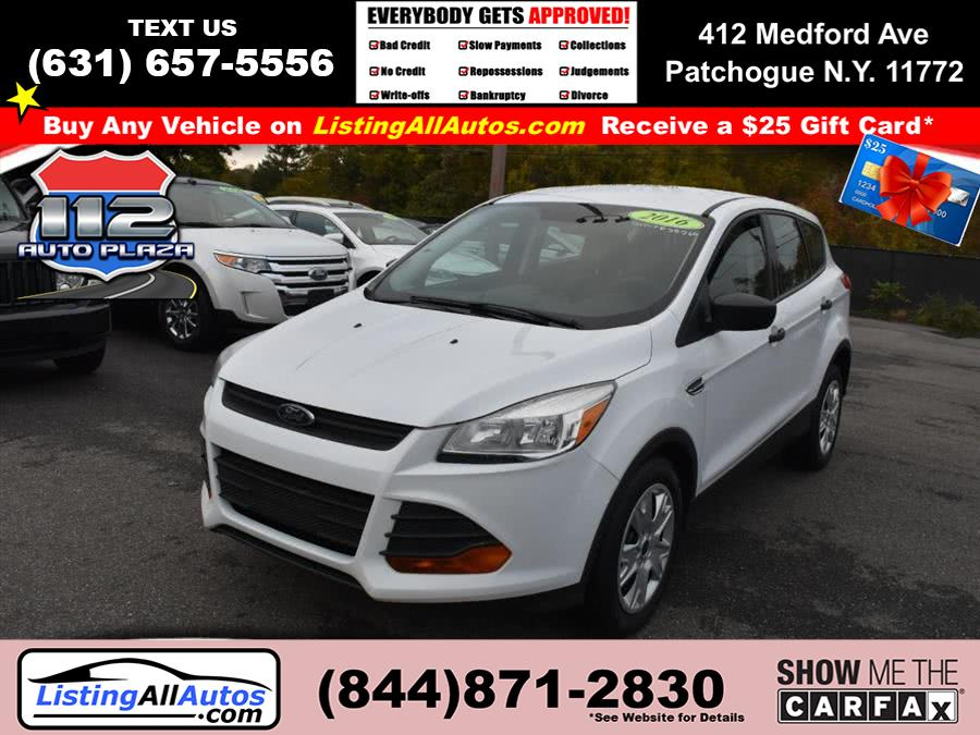 Used Ford Escape FWD 4dr S 2016 | www.ListingAllAutos.com. Patchogue, New York