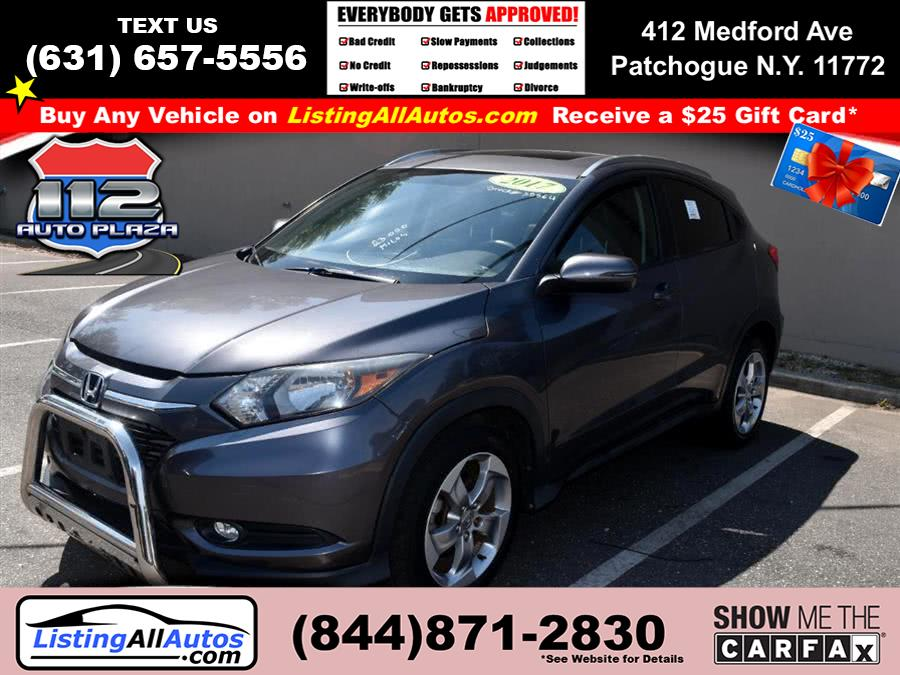 Used Honda Hr-v EX-L Navi AWD CVT 2017 | www.ListingAllAutos.com. Patchogue, New York