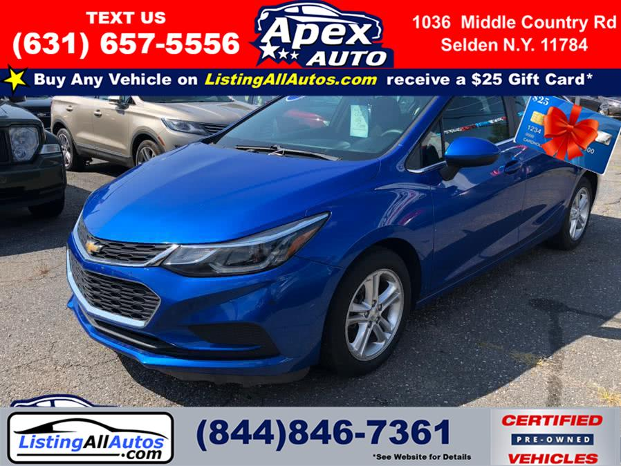Used 2016 Chevrolet Cruze in Patchogue, New York | www.ListingAllAutos.com. Patchogue, New York