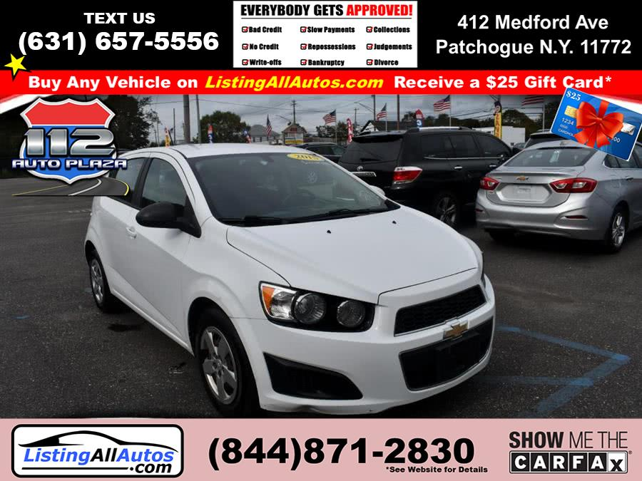 Used Chevrolet Sonic 5dr HB Auto LS 2015 | www.ListingAllAutos.com. Patchogue, New York