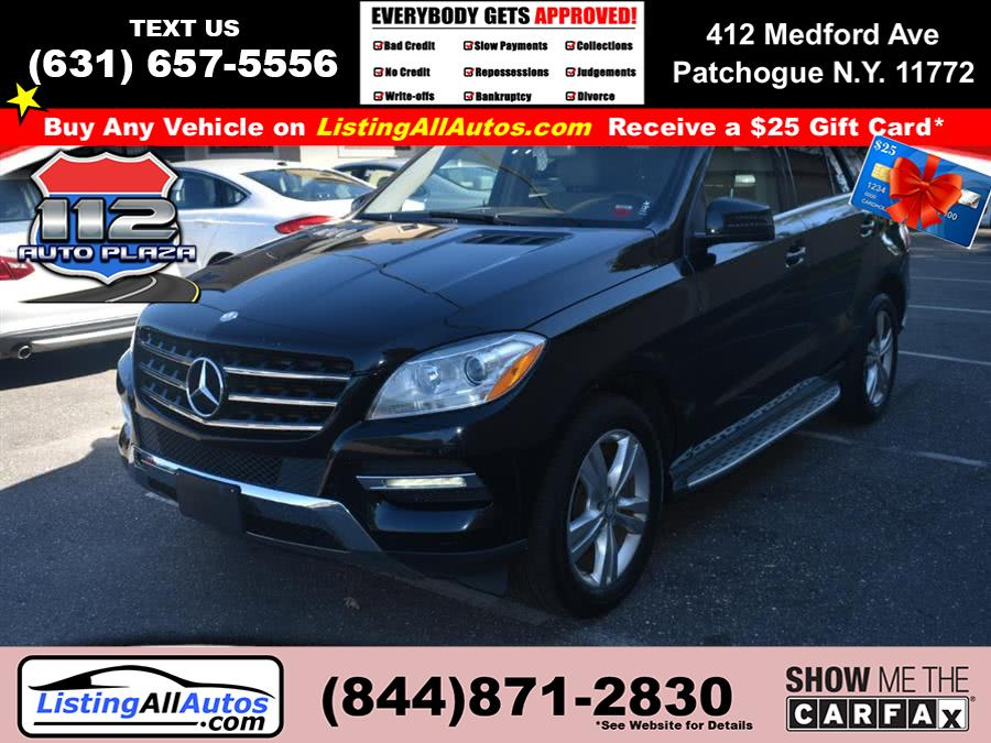 Used Mercedes-benz M-class 4MATIC 4dr ML 350 2014 | www.ListingAllAutos.com. Patchogue, New York