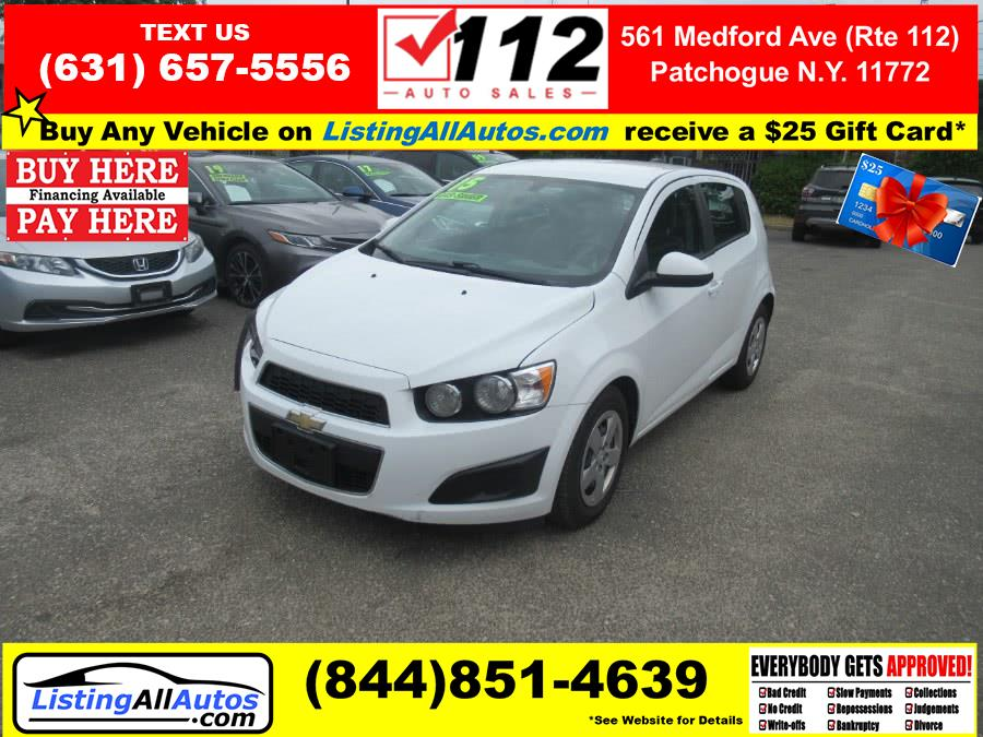Used 2015 Chevrolet Sonic in Patchogue, New York | www.ListingAllAutos.com. Patchogue, New York