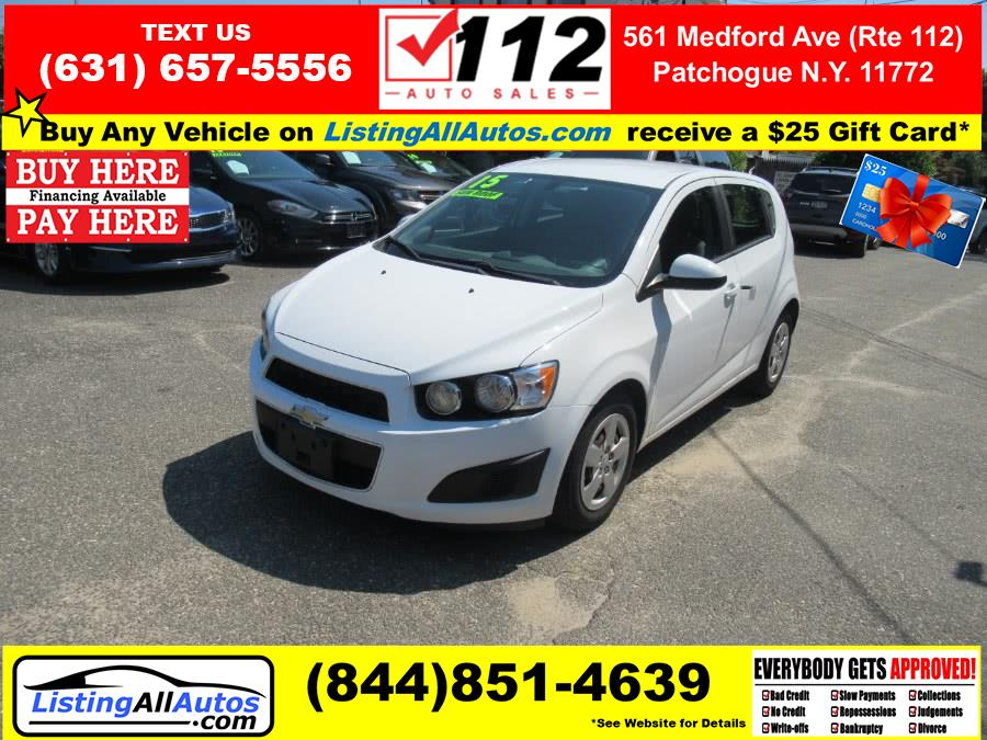 Used Chevrolet Sonic 4dr Sdn Auto LTZ 2015 | www.ListingAllAutos.com. Patchogue, New York