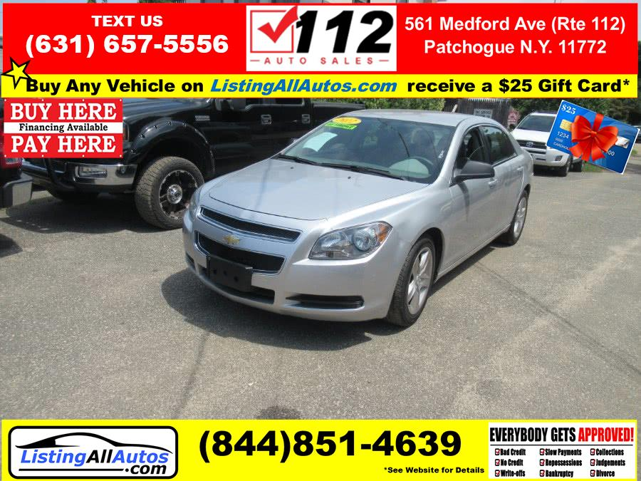 Used Chevrolet Malibu 4dr Sdn LS w/1FL 2012 | www.ListingAllAutos.com. Patchogue, New York