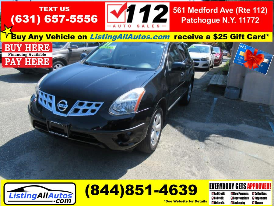 Used Nissan Rogue AWD 4dr S 2011   www.ListingAllAutos.com. Patchogue, New York