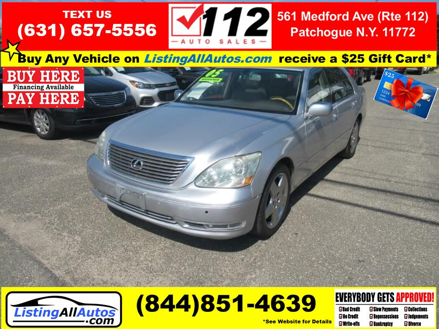 Used Lexus LS 430 4dr Sdn 2005 | www.ListingAllAutos.com. Patchogue, New York