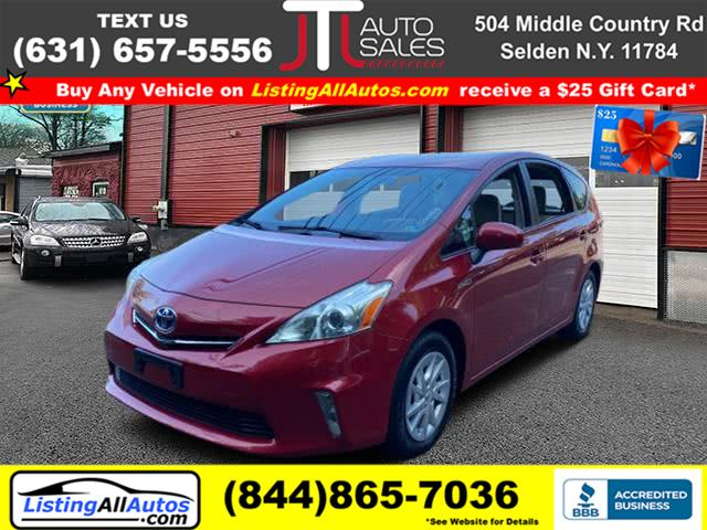 Used Toyota Prius v 5dr Wgn Two (Natl) 2012 | www.ListingAllAutos.com. Patchogue, New York