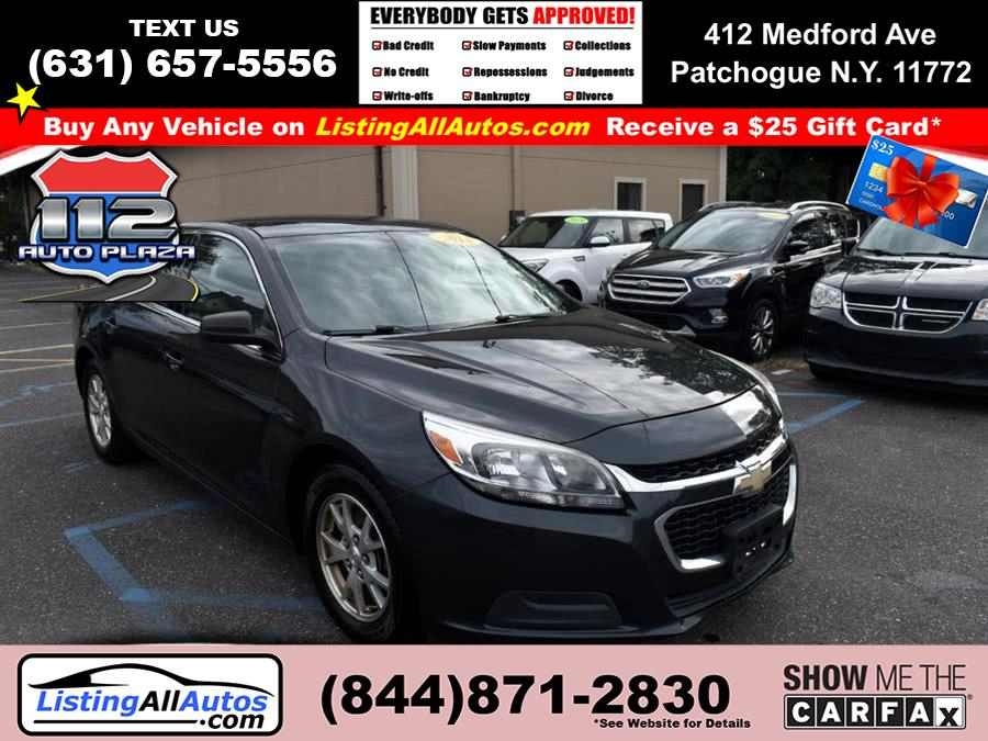 Used Chevrolet Malibu 4dr Sdn LS w/1FL 2014 | www.ListingAllAutos.com. Patchogue, New York