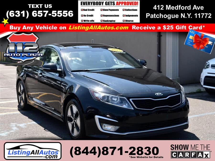 Used Kia Optima Hybrid 4dr Sdn 2.4L Auto EX 2013 | www.ListingAllAutos.com. Patchogue, New York