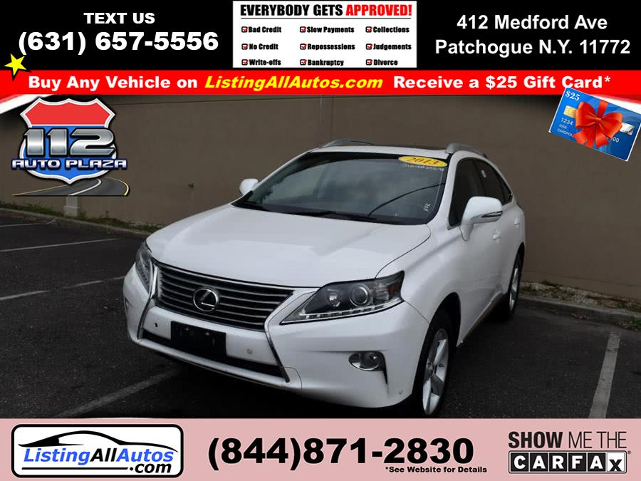 Used 2013 Lexus Rx 350 in Patchogue, New York | www.ListingAllAutos.com. Patchogue, New York