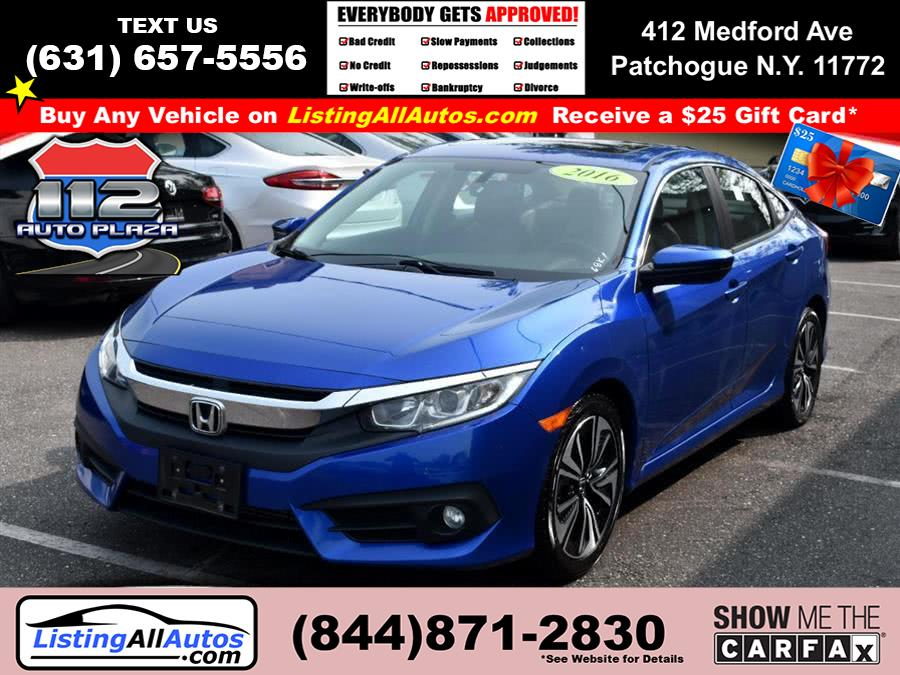 Used 2016 Honda Civic Sedan in Patchogue, New York | www.ListingAllAutos.com. Patchogue, New York