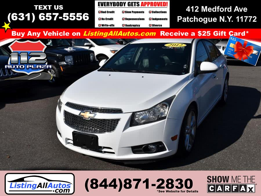 Used Chevrolet Cruze 4dr Sdn LTZ 2012 | www.ListingAllAutos.com. Patchogue, New York