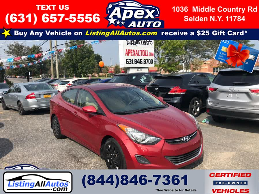 Used 2013 Hyundai Elantra in Patchogue, New York | www.ListingAllAutos.com. Patchogue, New York
