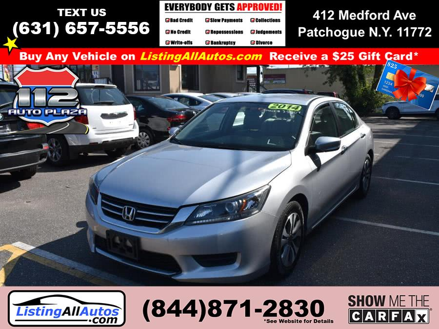 Used Honda Accord Sedan 4dr I4 CVT LX 2014 | www.ListingAllAutos.com. Patchogue, New York