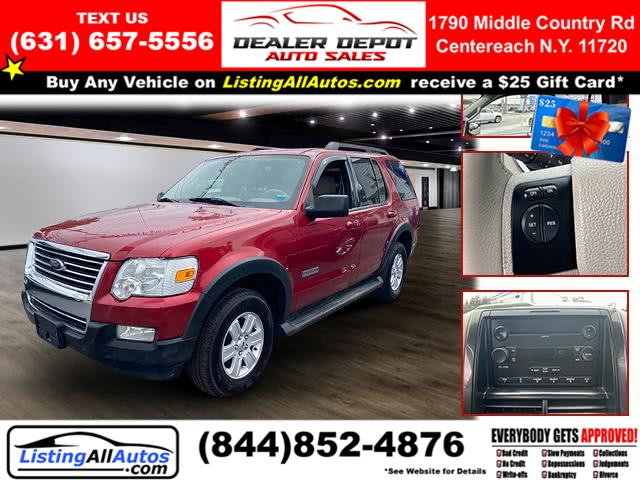 Used Ford Explorer 4WD 4dr V6 XLT 2007 | www.ListingAllAutos.com. Patchogue, New York