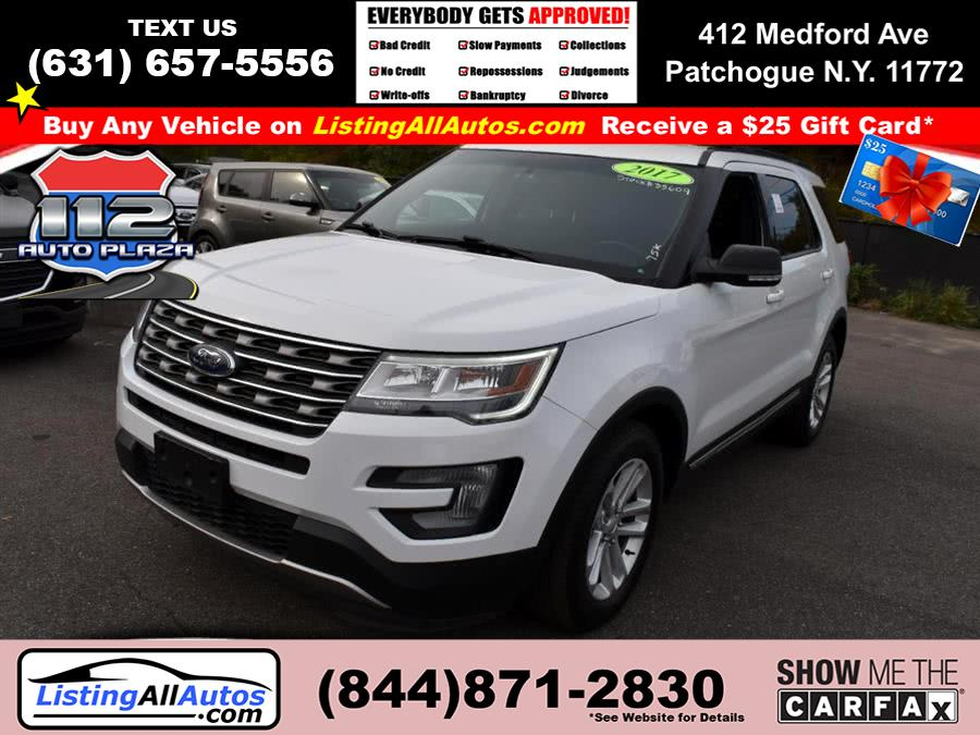 Used Ford Explorer XLT FWD 2017 | www.ListingAllAutos.com. Patchogue, New York