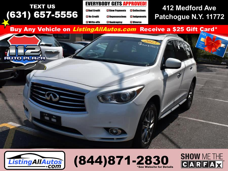 Used 2013 Infiniti Jx35 in Patchogue, New York | www.ListingAllAutos.com. Patchogue, New York