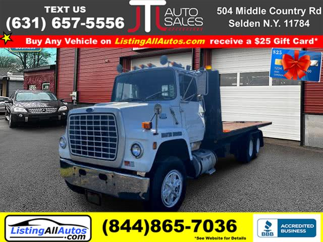 Used Ford Custom Flat bed 1986 | www.ListingAllAutos.com. Patchogue, New York