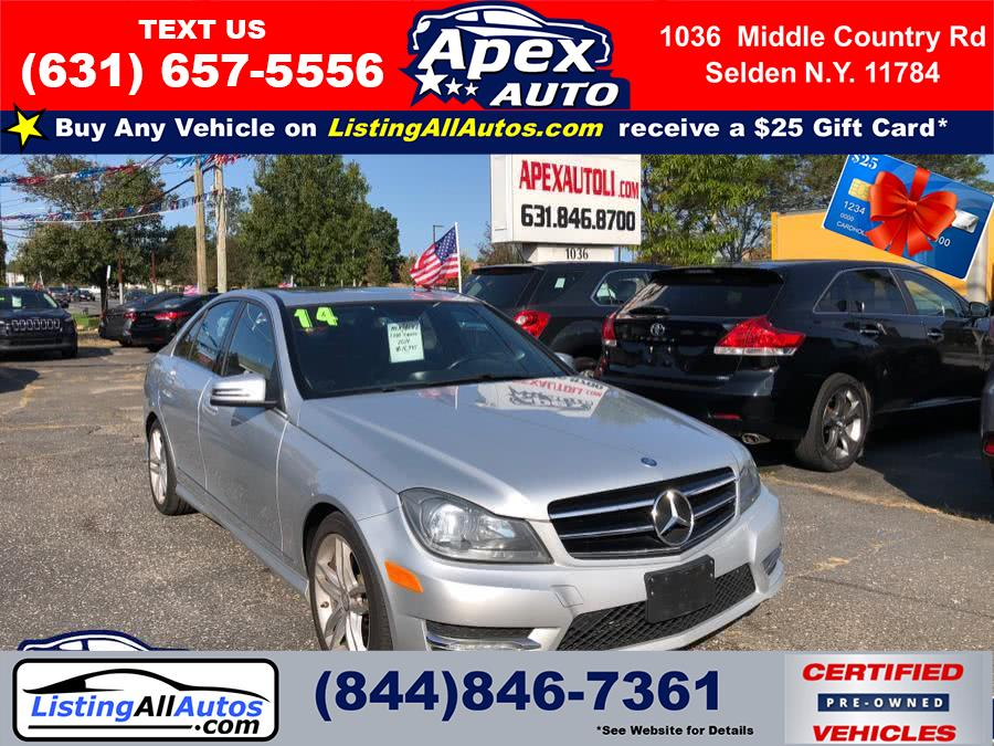 Used Mercedes-Benz C-Class 4dr Sdn C300 Luxury 4MATIC 2014 | www.ListingAllAutos.com. Patchogue, New York