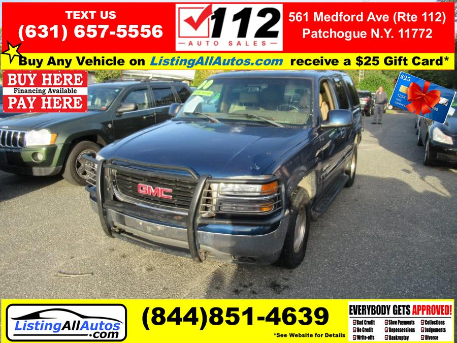 Used GMC Yukon 4dr 4WD SLT 2000 | www.ListingAllAutos.com. Patchogue, New York