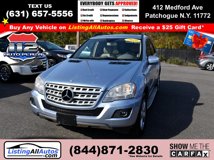 Used Mercedes-benz M-class RWD 4dr ML 350 2010 | www.ListingAllAutos.com. Patchogue, New York