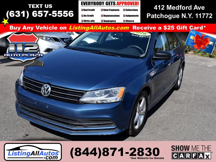 Used Volkswagen Jetta Sedan 4dr Auto 1.4T S 2016 | www.ListingAllAutos.com. Patchogue, New York
