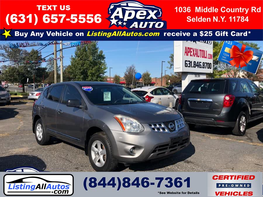 Used Nissan Rogue AWD 4dr SL 2012 | www.ListingAllAutos.com. Patchogue, New York