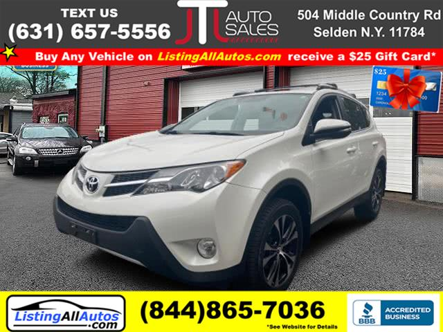 Used Toyota Rav4 AWD 4dr Limited (Natl) 2015 | www.ListingAllAutos.com. Patchogue, New York