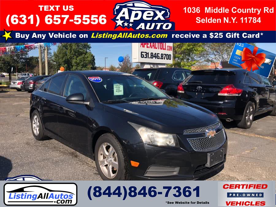 Used Chevrolet Cruze 4dr Sdn LT w/1LT 2012 | www.ListingAllAutos.com. Patchogue, New York