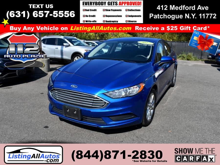 Used Ford Fusion SE FWD 2017 | www.ListingAllAutos.com. Patchogue, New York