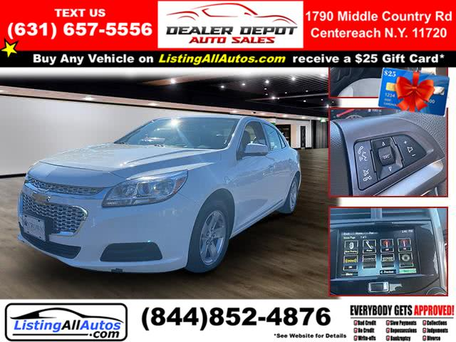 Used 2016 Chevrolet Malibu Limited in Patchogue, New York | www.ListingAllAutos.com. Patchogue, New York