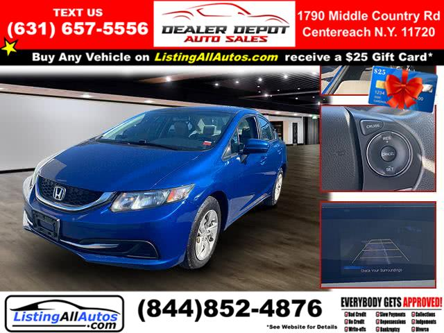 Used Honda Civic Sedan 4dr CVT LX 2014 | www.ListingAllAutos.com. Patchogue, New York